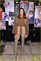 Aubrey Plaza - Vanity Fair And Lancome Paris Toast Women In Hollywood 3/1/18