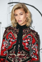 Hailey Baldwin - Dior Collection Launch in NYC 2/6/18