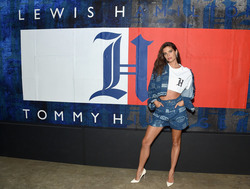 Sara Sampaio - TommyXLewis Launch Party in NYC 9/10/18