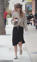 Dakota Johnson - Getting coffee in LA 5/18/18