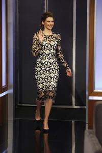 Lauren Cohan - Jimmy Kimmel Live in Hollywood 2/28/19
