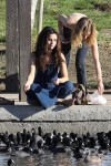 Selena Gomez at Lake Balboa park in Encino 02/02/2018924edf737640313