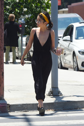 Sarah Hyland - Leaving the spa in LA 6/25/18