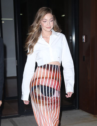 Gigi Hadid - Leaving her apartment in NYC 9/8/18