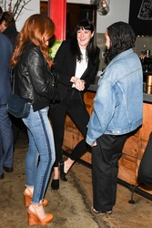 Isla Fisher - Bruna Papandrea's Made Up Stories launch in NYC 3/20/18