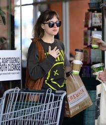 Dakota Johnson - Grocery shopping in LA 5/14/18