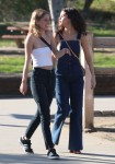 Selena Gomez at Lake Balboa park in Encino 02/02/201841ab80737637963