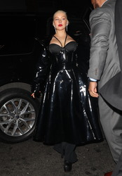 Christina Aguilera - Arriving at 1OAK Nightclub in NYC 9/7/18