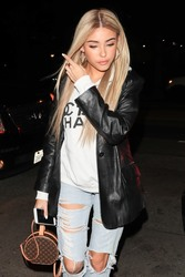 Madison Beer - Arriving at Peppermint Club in West Hollywood 12/27/18
