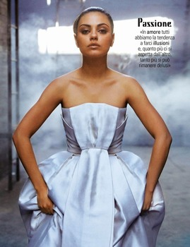Mila Kunis -                     Grazia Magazine (Italy) July 26th 2018.