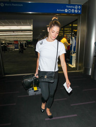 Ashley Greene - At LAX Airport 5/9/18