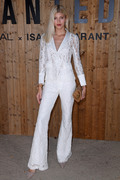 Devon Windsor - Isabel Marant x L'Oreal launch party in Paris 9/27/18