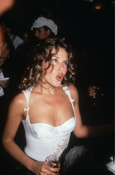 Kylie Minogue - Versace store opening, London, 5/27/1992