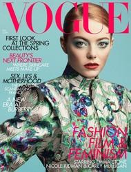 Emma Stone -               Vogue Magazine (UK) February 2019.