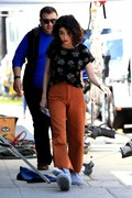 Sarah Hyland - On set of 'The Wedding Year' in LA 5/31/18