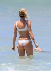 Miley Cyrus Wearing a Bikini at a Beach in Australia - 1/7/18
