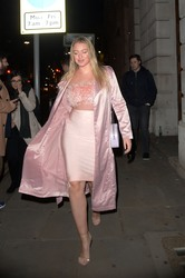 Iskra Lawrence - Wonderland Magazine x MTV Party in London 2/16/18