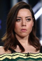 Aubrey Plaza - 2018 Winter TCA Tour Day 2 'Legion' Panel in Pasadena 1/5/18