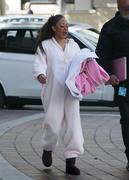 Melanie Brown - Wears a Onesie To America's Got Talent In LA (3/15/18)