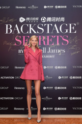 Elsa Hosk - Backstage Secrets By Russell James Beijing Exhibit Opening Party in Beijing 0/14/18
