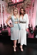 Alyson Michalka -                       Salvatore Ferragamo Celebrate AMO Ferragamo New York City June 2nd 2018 With Amanda.
