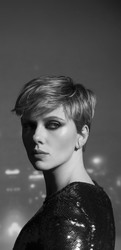 "Scarlett Johansson - Pete Yorn & Scarlett Johansson ""Apart"" EP photoshoot, 2018"