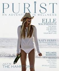 Elle MacPherson -                                         Hamptons Purist Magazine July (2018).