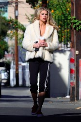 Charlotte McKinney - Out in LA 1/27/18