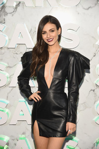 Victoria Justice - Saks Celebrates New Main Floor Opening in NYC 2/7/19