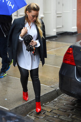 Hilary Duff - Out in NYC 5/19/18