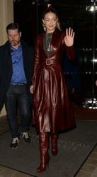 Gigi Hadid - Leaving her hotel in Paris 3/2/19