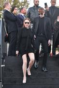 Lindsay Lohan - Saint Laurent Fashion Show in Paris 9/25/2018 dc5f37985774084