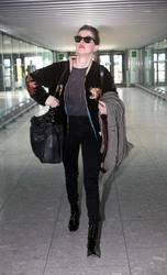 Amber Heard - At Heathrow Airport 3/8/19