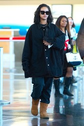 Rihanna - At JFK Airport 1/28/19