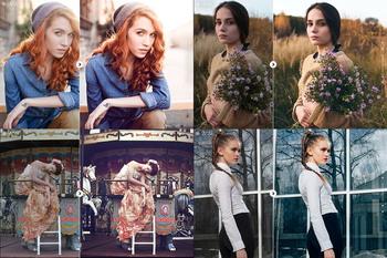 Pro Photoshop & Lightroom Photo Actions / Профессиональный набор панелей, экшенов, пресетов для Photoshop и Lightroom (2017) lrtemplate, atn, zxp, pdf