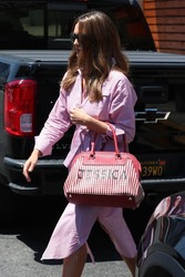 Jessica Alba - Out for lunch in West Hollywood 8/1/18