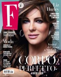 Elizabeth Hurley - F magazine, Italy, 2018