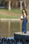 Selena Gomez at Lake Balboa park in Encino 02/02/2018d5100c737639493