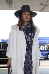 Jessica Alba - At LAX Airport 4/29/18