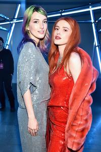 Bella Thorne & Dani Thorne - Sally LaPointe Fashion Show in NYC 2/12/19