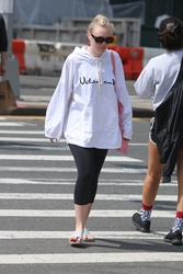 Dakota Fanning - Out in NYC 5/7/18