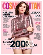Alison Brie - Cosmo Italy (Aug 2018) (w/ BTS shots)
