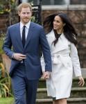 Meghan Markle -           Engagement Announcment The Sunken Gardens Kensington Palace London November 27th 2017.