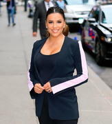 Eva Longoria - Arriving at The Late Show with Stephen Colbert in NYC 10/2/18