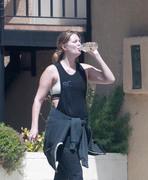 Mischa Barton - Leaving the gym in LA 8/15/18
