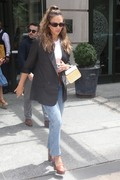 Jessica Alba - Leaving a meeting in NYC 7/24/2018 be80e2931388754
