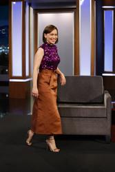 Emilia Clarke - at Jimmy Kimmel Live 5/01/2019