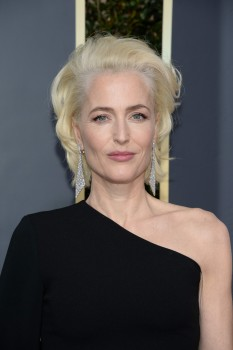Gillian Anderson, The 75th Annual Golden Globe Awards in Beverly Hills (1/7/18)
