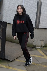 Noah Cyrus - Outside ITV studios in London 3/6/18