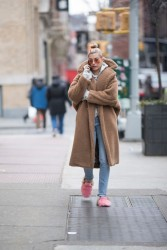 Hailey Baldwin - Out in NYC 1/16/18
